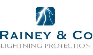 Rainey Lightning Protection Logo